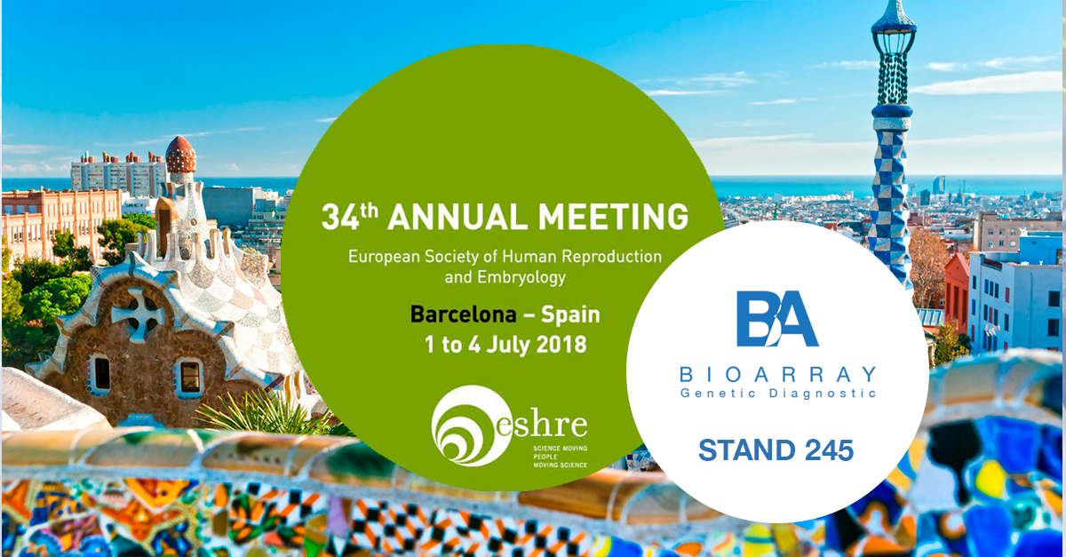 Bioarray at ESHRE 2018